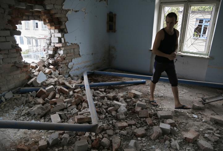Fugan masiva de cárcel de alta seguridad tras ataque en Ucrania