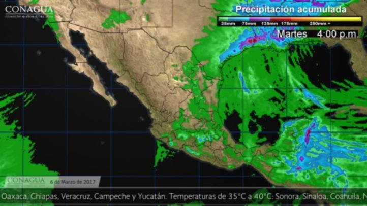 Pronóstico del tiempo para el 6 de marzo