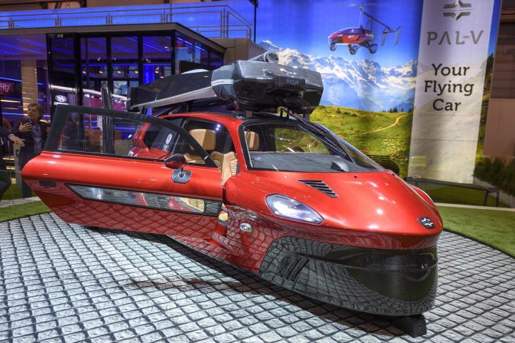 Compañía se inspira en James Bond y ofrece automóvil volador