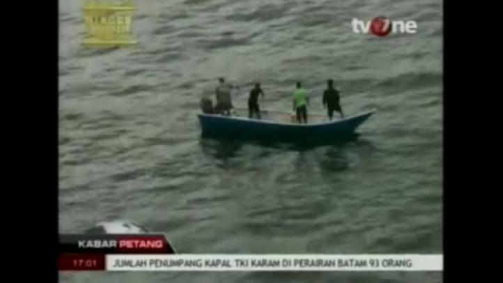 Naufragio en Indonesia provoca la muerte de 18 personas