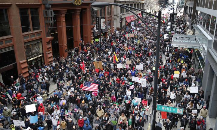 """Un """"día sin migrantes"""" en Estados Unidos"""