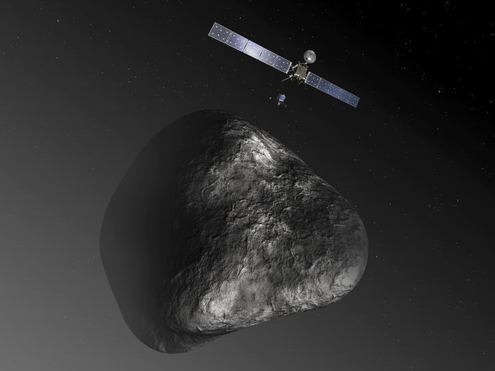 Nave espacial Rosetta alcanza cometa tras perseguirlo 10 años