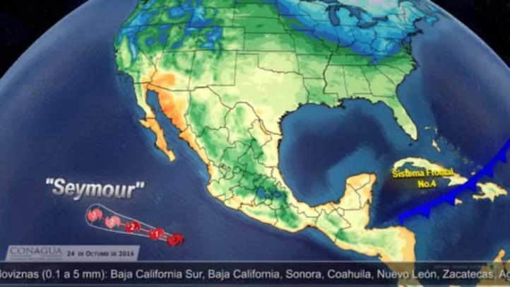 Pronóstico del tiempo para el 24 de octubre