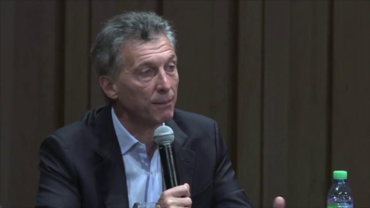 Macri aseguró que no se sabe cuál es el estado real de las cuentas públicas