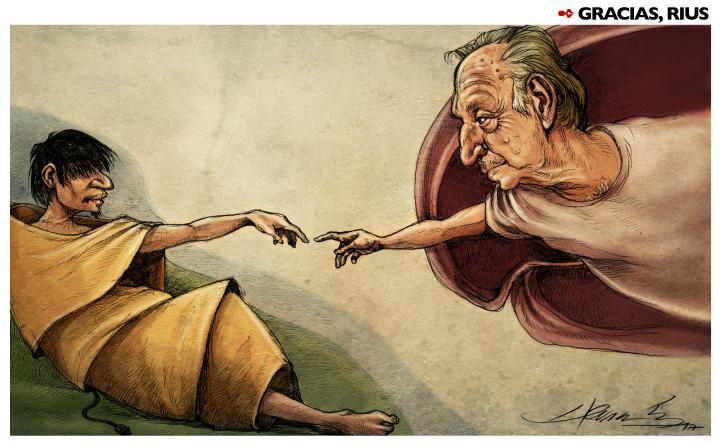 La influencia de Rius va más allá de lo que un simple caricaturista puede hacer: Hernández, monero
