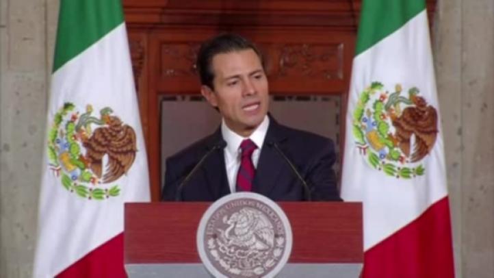 México no pagará el muro: Enrique Peña Nieto