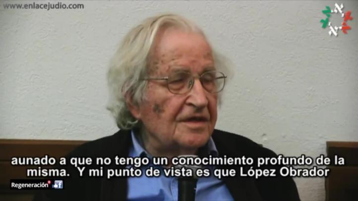 Amlo tiene posibilidad de ganar: Chomsky