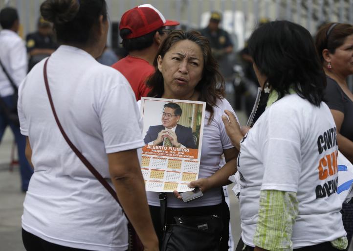Fujimori pide perdón a quienes defraudó, omite a víctimas