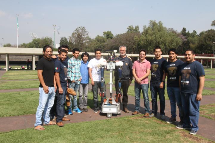 Justina representará a México en la RoboCup  2017