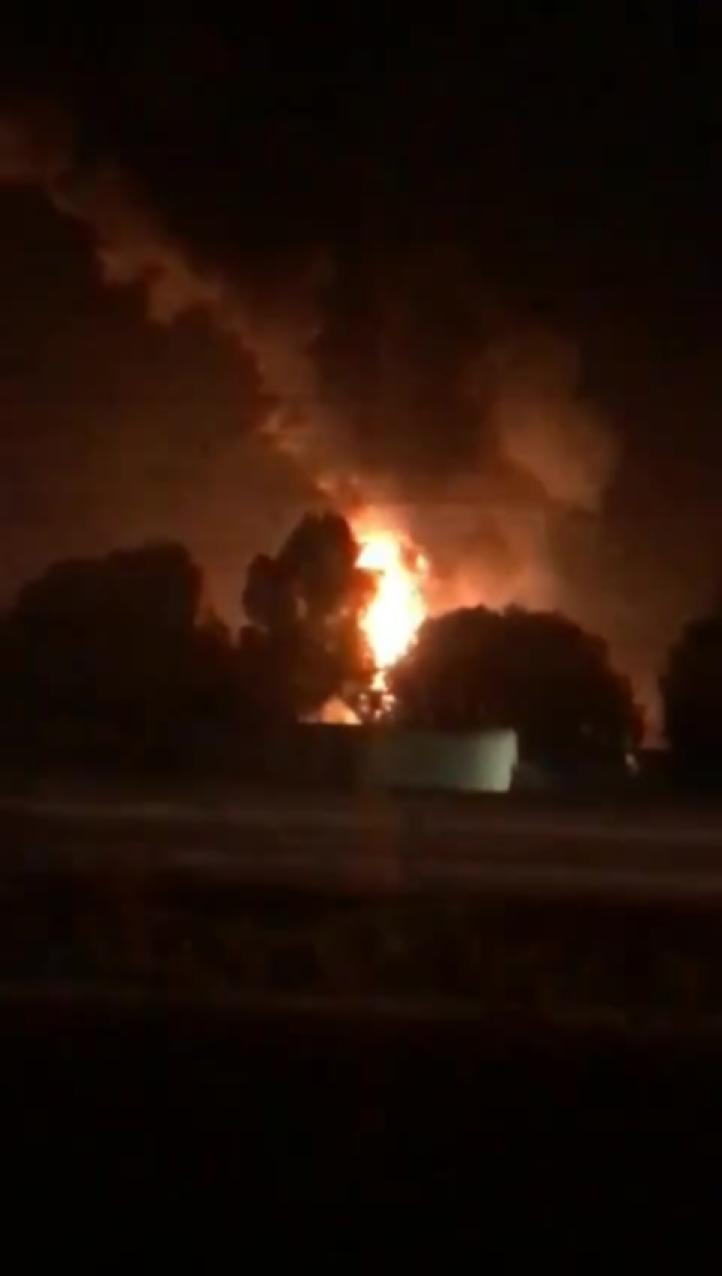 Explosión ducto en Hidalgo