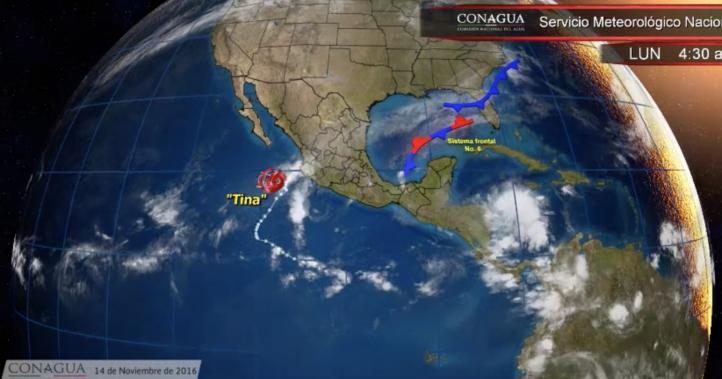 Pronóstico del tiempo para el 14 de noviembre