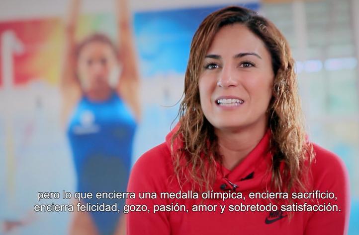 Capital de campeones: Paola Espinosa