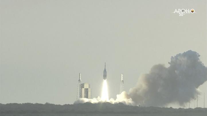 NASA lanza cápsula Orion para probar sistema de aborto