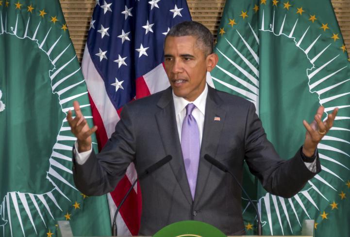 Obama cierra visita a África con discurso en Unión Africana