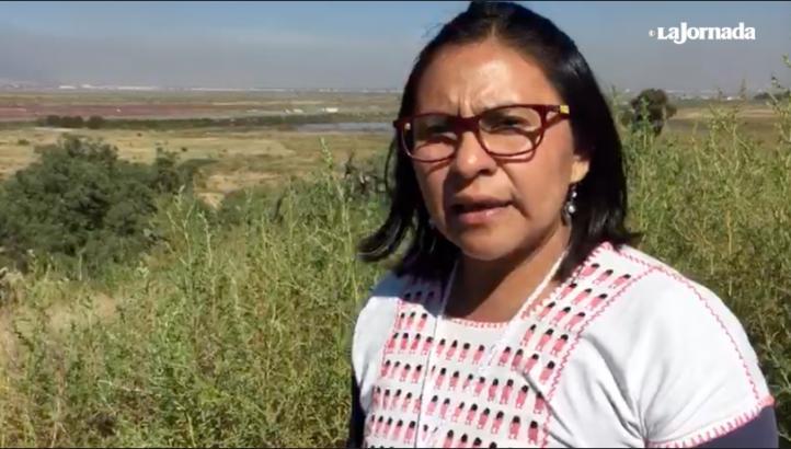 FPDT pide decir 'no' a aeropuerto de Texcoco