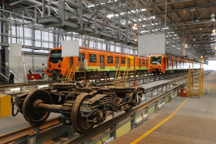 Realizan recorrido en instalaciones de Línea 12 del STC