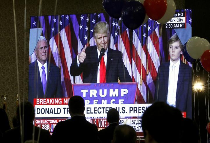 Donald Trump será el próximo presidente de EU
