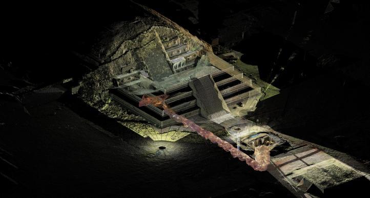 Hallan ofrenda prehispánica con más de 50 mil objetos en Teotihuacán