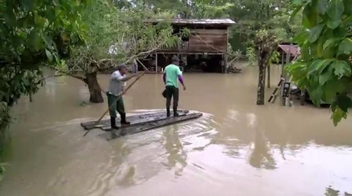 Otto deja 9 muertos en Costa Rica