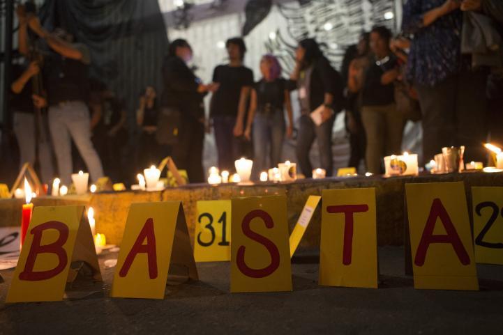 Periodistas exigen justicia por el asesinato de Javier Valdez