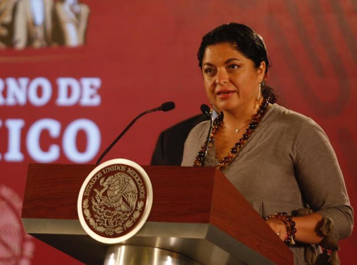 La secretaria de Cultura explica caso del Palacio de Bellas Artes
