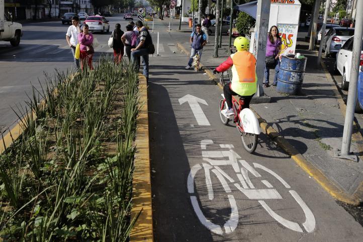 Infraestructura urbana: La ciclovía de Revolución y Patriotismo