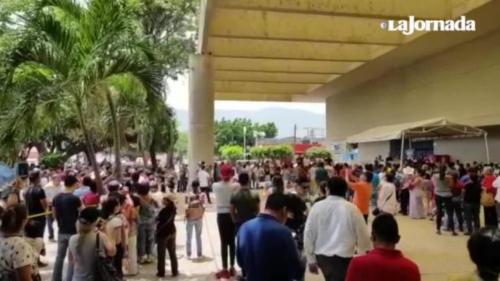 """¡Queremos votar!"", gritan en Tuxtla Gutiérrez"