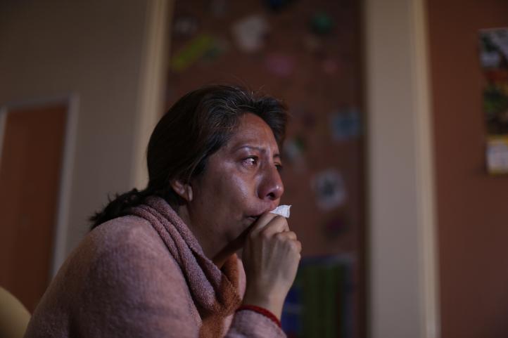 Madre de desaparecida busca reunirse con el Papa