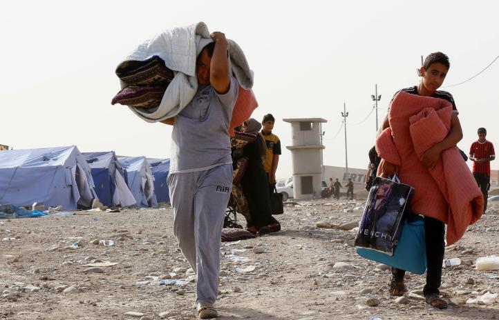Irak: Más de 500 mil civiles huyen de Mosul