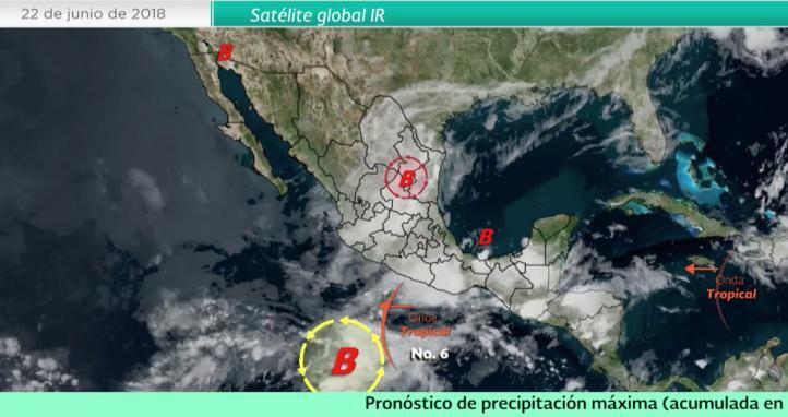 Pronóstico del tiempo para el 22 de junio