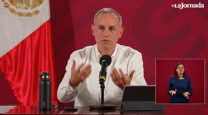López-Gatell reprueba la supuesta fiesta Covid