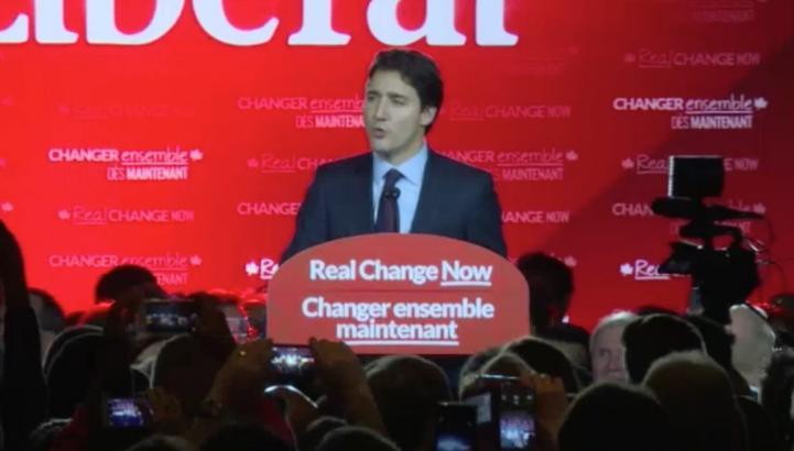 Liberales logran mayoría parlamentaria en Canadá