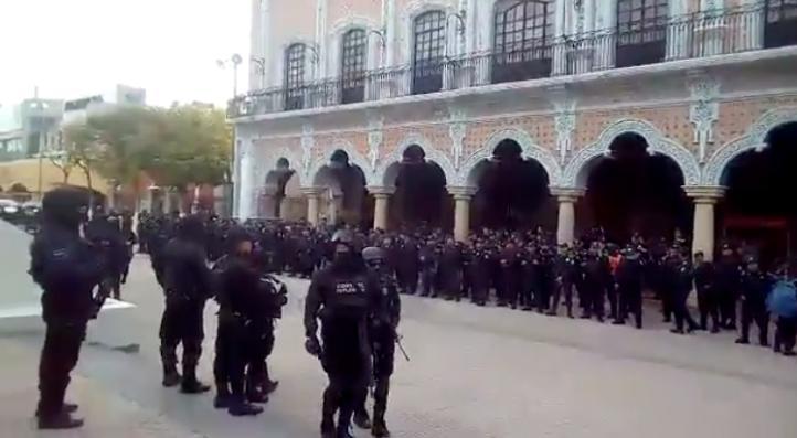 Policía estatal toma el control de la seguridad en Tehuacán