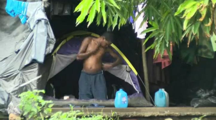 Migrantes africanos varados en Costa Rica
