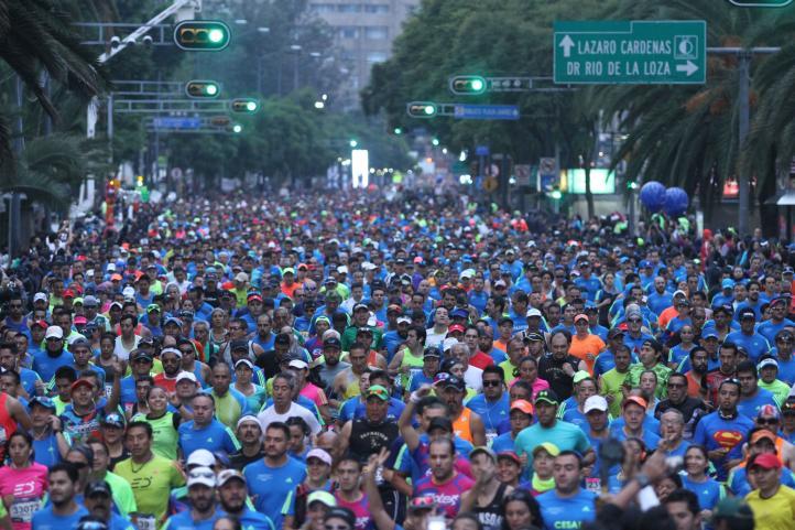 XXXIV Edición del Maratón de la Ciudad de México