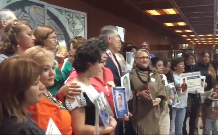 La Ley general de desaparición forzada fue aprobada con 397 votos a favor
