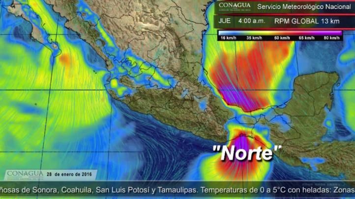 Pronóstico del tiempo para el 28 de enero