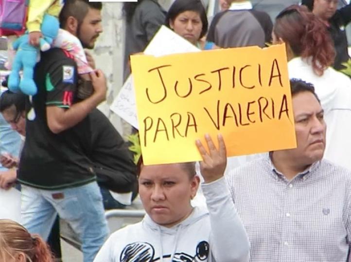 Exigen justicia por niña asesinada en Nezahualcóyotl
