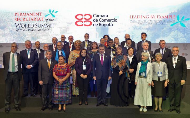 Cumbre mundial de premios Nobel de la Paz