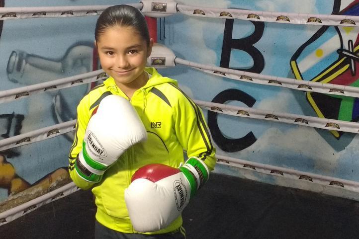"""Fany, la """"Niña de Oro"""" del boxeo en México"""