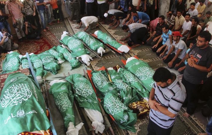 En dos semanas ejército israelí ha asesinado al menos a 530 palestinos