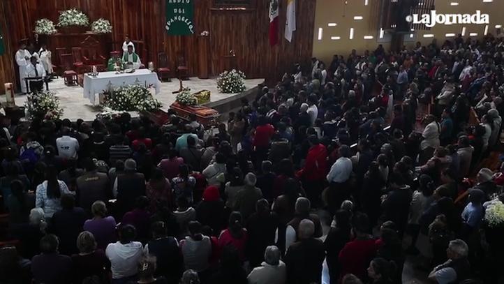 Dan el último adiós a fallecidos en Tlahuelilpan