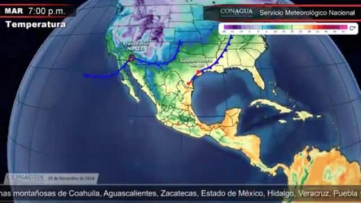 Pronóstico del tiempo para el 29 de noviembre