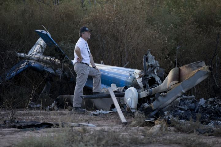 Rescatan cuerpos del accidente aéreo en Argentina