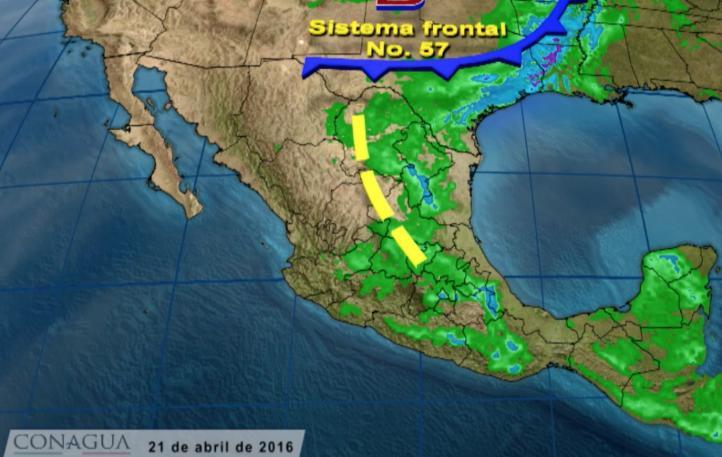 Pronóstico del tiempo para el 21 de abril