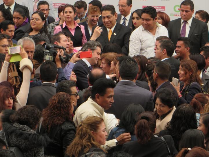 Maestros del Estado de México manifiestan su apoyo a la CNTE
