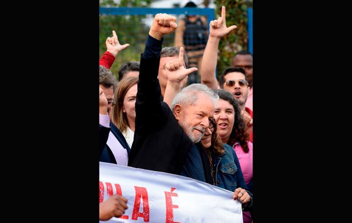 """""""Salgo con mucha voluntad de volver a luchar"""": Lula da Silva"""