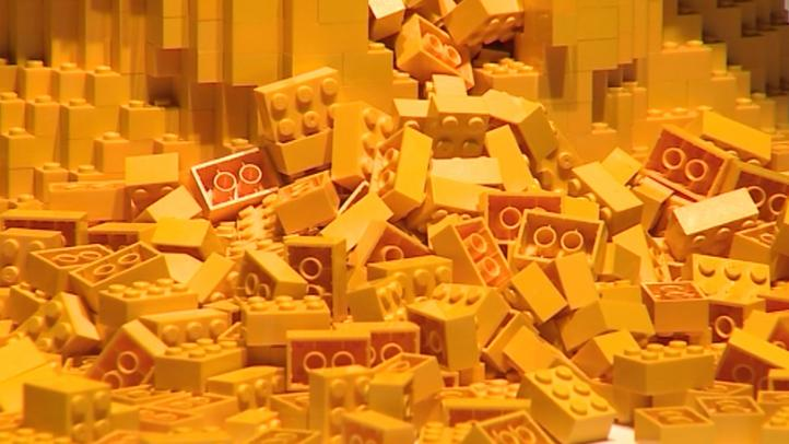 Las piezas de Lego, excelente aislante térmico en el frío absoluto
