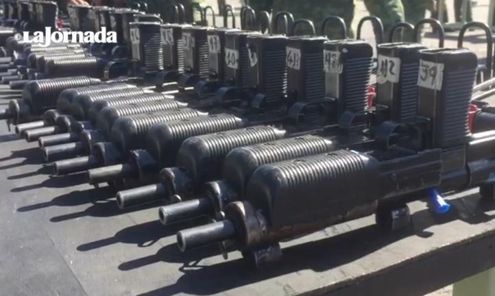 Más de 171 mil armas destruidas por la Sedena