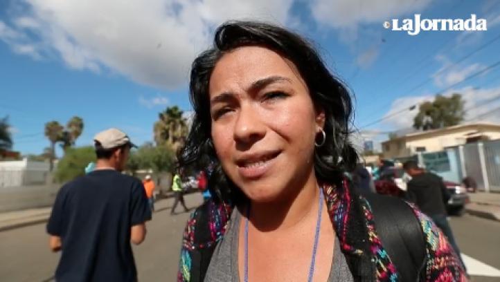 Para el éxodo, el proceso legal que sigue es individual: Pueblo Sin Fronteras